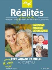 Réalités familiales couverture magazine unaf